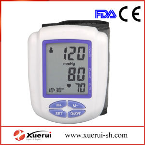 Wrist-Type Automatic Blood Pressure Monitor, FDA Approved pictures & photos