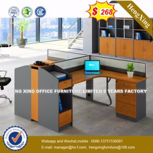 Cherry Office Furniture Melamine Workstation Office Partition (HX-8N0237) pictures & photos