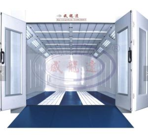 Wld-9000 China Car Spray Booth for Nigeria Market with CE Certificate (Luxury Type) (CE) pictures & photos