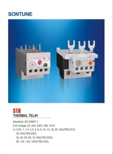 Sontune Sth-85 Auxiliary Relay pictures & photos