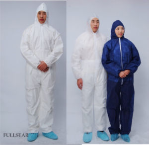 Disposable Non Woven Coverall for Americans pictures & photos