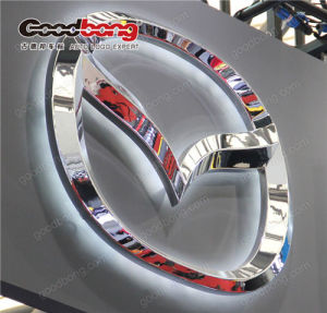 Acrylic Engrave 3D Branded Car Logo pictures & photos