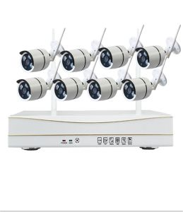 China Supplier Factory Price 4CH 8CH720p 960p 1080P Home Security CCTV Camera Systems WiFi Wireless NVR Kit CCTV System pictures & photos