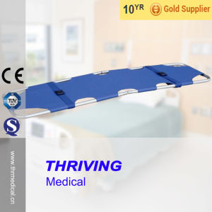 Aluminum Alloy Emergency Folding Stretcher (THR-1B) pictures & photos
