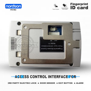 Waterproof Dust IP65 Wiegand Metal ID Card Standalone Fingerprint Access Control for Single Door pictures & photos