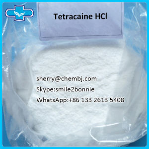 Hot Selling Local Anaesthesia Tetracaine HCl with Competitive pictures & photos