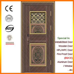 China Daji Latest Technology Intelligent Luxury Security Door Stainless Steel 304 pictures & photos