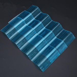 Xinhai 1mm Corrugated Polycarbonate Plastic Sheet Hollow Sheet for Greenhouse pictures & photos