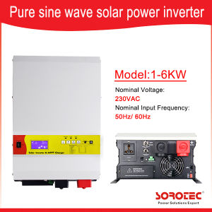 1-6 Kw Low Frequency Solar Energy Generator System off Grid Solar Inverter with MPPT Controller pictures & photos