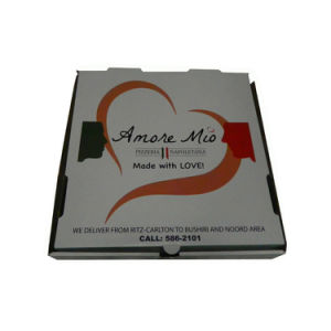 Hot Sale Custom Cheap Pizza Delivery Box pictures & photos