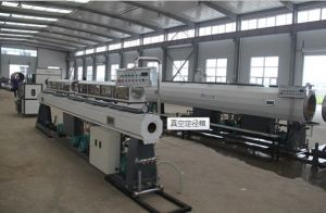 HDPE Silicon Core Cable Trunking Pipe Extrusion Line pictures & photos