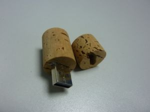 Round Wood USB Flash Drive USB 2.0 (OM-W029) pictures & photos