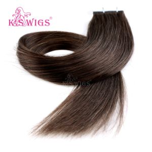 Top Quality Tape Hair Remy Brazilian Human Hair Extensions pictures & photos