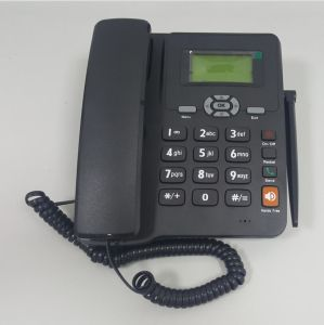 Manufacturer 2g Multi Language GSM Fixed Wireless Telephone Set with FM Radio pictures & photos