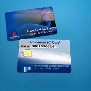 Custom logo ISO7816 SLE4442 PVC Smart Contact IC Card pictures & photos