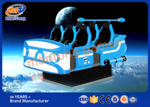 Deluxe Vibration Simulator Firberglass 9d Vr 6 Players Seats pictures & photos