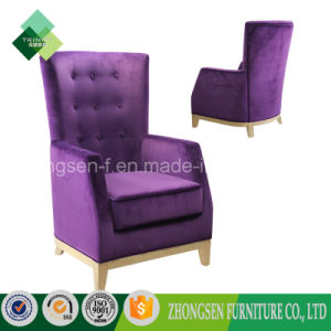Modern High Back Chair Purple Chair for Living Room (ZSC-72) pictures & photos