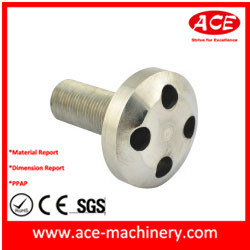 CNC Machining Turned Part of Aluminum Socket pictures & photos