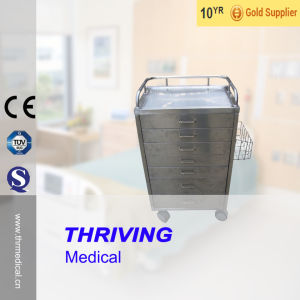 Thr-Mts74 Hospital Stainless Steel Medical Trolley pictures & photos