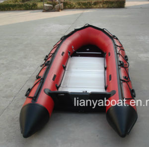 Liya 12.5-21FT Cheap PVC Inflatable Tender Boat pictures & photos