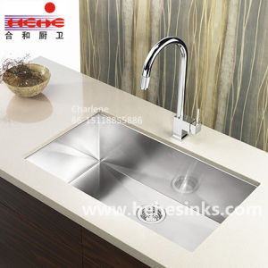 Single Bowl Small Rounded Corner Handmade Sink (3218A) pictures & photos