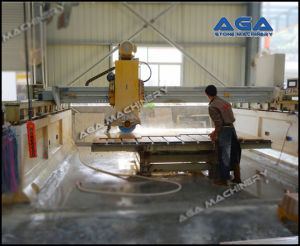 Laser Stone Bridge Sawing Machine for Cutting Marble/Granite (HQ700) pictures & photos