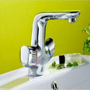 Deck Mounted Bathroom Basin Mixer pictures & photos
