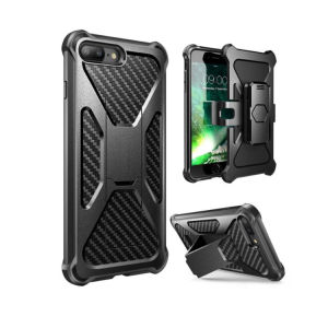 Dual-Layer Rugged with Bulit- in Kick Stand Cell Phone Case for iPhone8 pictures & photos