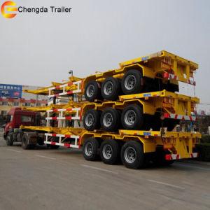 Container Semitrailer, Skeleton Semi Trailer pictures & photos