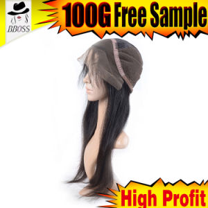 100 Percent 10A Grade Brazilian Glueless Hair Lace Wigs pictures & photos