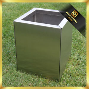 Customized Square Outdoor Stainless Steel Planter Box pictures & photos