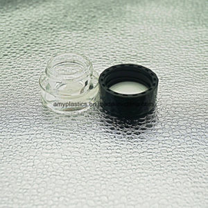 Transparent Plastic Cosmetic Jar for Lotion or Cream pictures & photos