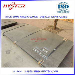 OEM Factory Supply 1500X3000mm 5+5 Chromium Carbide Overlay Wear Steel Plate pictures & photos