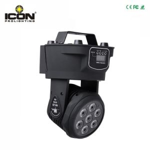 Professional 7X15W RGBWA/UV 6in1 LED Mini Moving Head Stage Light pictures & photos