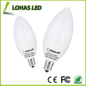 Dimmable Chandelier LED Candle Light Bulb with 3W 5W 6W pictures & photos