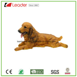 2017 Detailed and Perfectly Hand Painted Dog Statue for Home and Garden Decoration pictures & photos