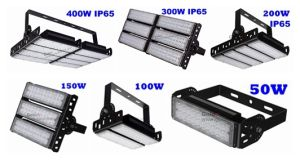 Outdoor 45 60 90 120 Degree 400W Halogne Lamp Replacment 100W White Housing LED Flood Light pictures & photos