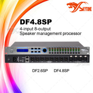 Df4.8sp 4-in 8-out DSP Speaker Management Processor DJ Audio System pictures & photos