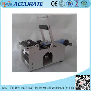 Semi-Automatic Round Bottle Sticker Labeling Machine pictures & photos