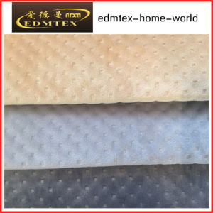 Embossed Velvet 100% Polyester Textile Fabric (EDM5167) pictures & photos