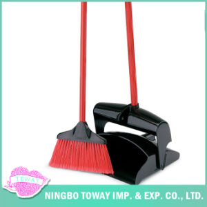 Plastic Home Indoor Push Sweeper Dustpan and Broom pictures & photos