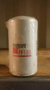 Fleetguard FF185 Fuel Filter for Chevrolet Gmc Ud Caterpillar Case Ihc Kenworth Peterbilt Volvo pictures & photos