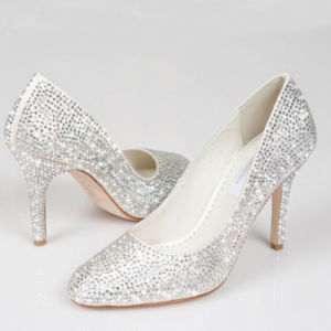 Party Wear Pumps Stilettos Girls Ladies Women High Heel Shoes pictures & photos