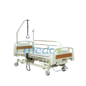 Three Funcitons Electrical Cum Manual Hospital Bed pictures & photos