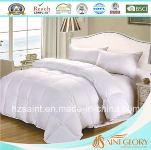 Luxury Down Quilt White Goose Feather and Down Blanket pictures & photos