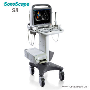Medical Hospital Sonoscape S8 Advanced 4D Color Doppler Ultrasound Equipment pictures & photos