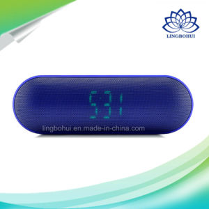4 Colors Alarm Clock Bluetooth Wireless Mini Speaker pictures & photos