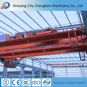 Qd Type Double Girder Overhead Crane Travelling Rooftop pictures & photos