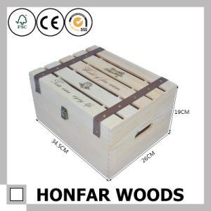 6 Bottles Wood Packaging Box Wooden Wine Box Gift Box