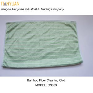 Bamboo Fiber Cleaning Cloths pictures & photos